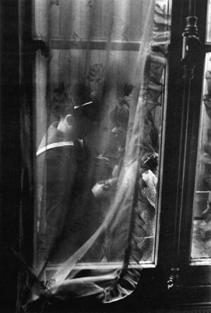 Les adieux du permissionnaire, 1963 © Willy Ronis